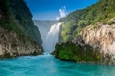 Cascada de Tamul - Tamul Waterfall in San Luis Potosi, Mexico