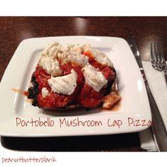 Recipe of the Week: Portobello Mushroom Cap Pizzas