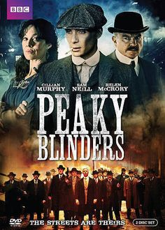 The Peaky Blinders: Season One (DVD, 2015, 2-Disc Set) NEW + FREE SHIPPING