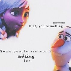 Olaf and Elsa | Frozen