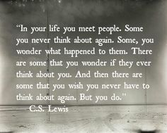 Oh yes and I think about that person everyday. It makes me feel like a weak fool