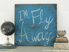 awesome diy sign from lovely etc.  this would be so cute in sawyer's room!