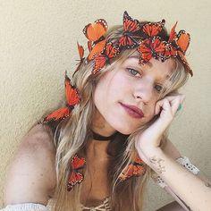 x Wild & Free Jewelry Butterfly Crown x