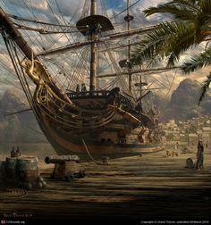Port Royal by Sarel Theron | 2D | CGSociety
