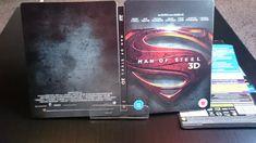 Wydanie Człowieka ze stali na nośniku Ultra HD Blu-ray 4K zawiera ścieżkę Dolby Atmos.