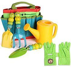 Gardening with Kids — Hello Rascal Kids Garden Tool Storage, Garden Tool Set, Dango Peluche, Kids Gardening Gloves, Kids Tool Belt, Leather Work Gloves, Wooden Tool Boxes, Paw Patrol Toys, Watering Can