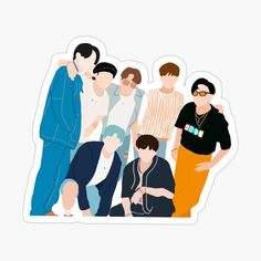 Foto Bts, Bts Photo, Bts Bg, Pop Stickers, Bts Aesthetic Pictures, Album Bts, Bts Drawings, Bts Chibi, Aesthetic Stickers