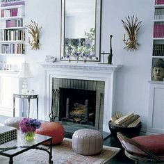 Things We Heart: Decor to Die For: You're such a pouf! No we mean it in a nice way! We heart Moroccan Poufs!