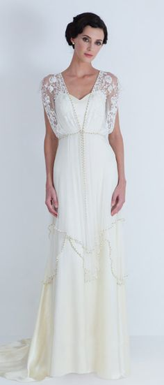 Wedding gown I wore on my wedding day! =) Catherine Deane #ryanissawedding