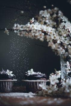 Food Photography & Styling Inspiration | Mocha squares