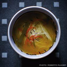 Miso & Vermicelli Soup (Vegan)