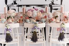 Mulberry Blooms | Photography by: 5ive15ifteen Photo Company | WedLuxe Magazine #tabledecor #weddinginspiration