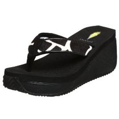 1abcf78d7b8 VOLATILE Flip Flops are so comfortable. Love them Low Wedge Sandals