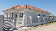 Proiect casa rezidentiala Corbeanca 3 – Profile Decorative Village House Design, Village Houses, Design Case, Garage Doors, Exterior, Outdoor Decor, Home Decor, Profile, Facades
