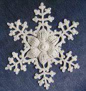 Znalezione obrazy dla zapytania fiocchi neve uncinetto schemi