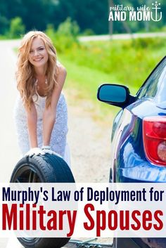 Hilarious take on Murphy's Law for regular people vs. military spouses!