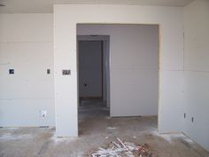 Feb 18 -  standing in LR looking thru foyer, laundry room and bath.