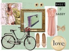 """""""Sweet and Sassy Clutch"""" by hintofvintageclutch on Polyvore"""