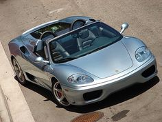 This is a beautiful pic of a Farrari 360 Spider