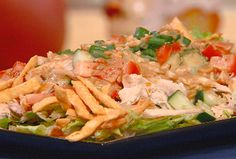Thai Chicken Salad with Peanuts and Lime recipe from Robin Miller via Food Network