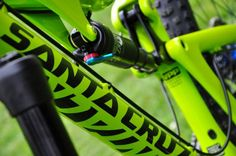 - custom bike from bikeinsel.com -  #SantaCruz #Bronson #Bikeinsel Santa Cruz Bronson, Custom Bikes, Bee, Yellow, Honey Bees, Custom Motorcycles, Bees, Custom Bobber