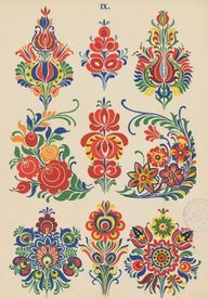 Folk Embroidery Patterns pixels - Our friends at The Silk Bureau have a great discount offer available to all our Patternbank customers. With competitive rates it's never been easier to Hungarian Embroidery, Folk Embroidery, Embroidery Patterns, Indian Embroidery, Embroidery Stitches, Floral Embroidery, Art Populaire Russe, Pattern Art, Print Patterns