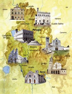 These are only some of our treasures...Umbria, Italy