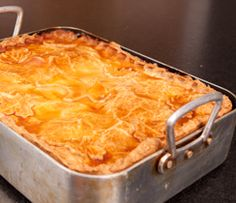 The tradition of the Tourtière is still alive in Quebec, especially in the Saguenay-Lac St-Jean-Charlevoix region. One way to make it is to prepare meat with potatoes and cover with pastry before baking over low heat.