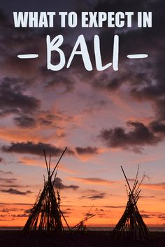 What to Expect in Bali