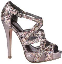 glitter heels!