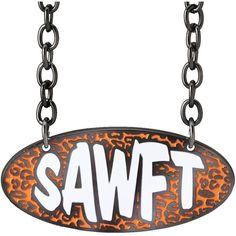 "Enzo Cassady ""SAWFT"" Pendant ❤ liked on Polyvore featuring jewelry, pendants, nickel pendant, sports jewelry, nickel jewelry, pendant jewelry and charm pendant"