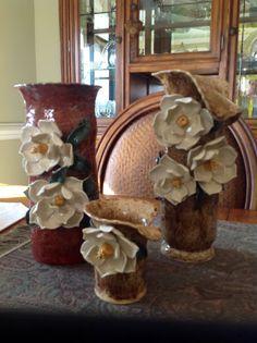 Magnolia Vases