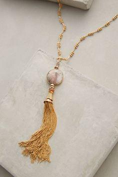 Deco Tassel Necklace - anthropologie.com