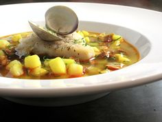 Cozumel Fish Stew from Emily Egge, CozumelChef.com. The fresh seafood found in Cozumel makes for a fantastic fish stew. I can feel the ocean breezes.