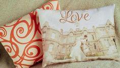 DIY Photo Pillows  - fayepaper.com