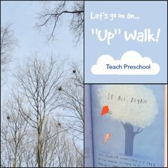 Lets go on an up walk by Teach Preschool
