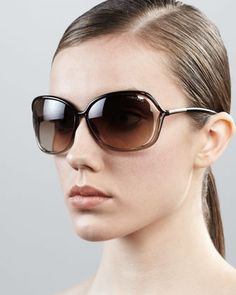 20396b7c77ae Raquel Squared Sunglasses by Tom Ford at Neiman Marcus. Tom Ford Eyewear
