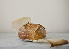 The {Famous} NY Times- No Knead Bread - A Stack of Dishes - use hot water and let rise for 3-4 hours instead of 12-24!