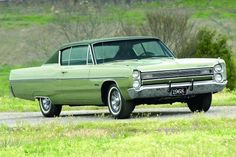 1968 Plymouth Fury III ~ another flashback from my childhood (Dad even had a green one with the hard top similar to this one.)