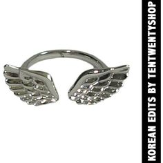 Angel Wings Ring (50 BRL) ❤ liked on Polyvore featuring jewelry, rings, accessories, anel, bijoux, thin silver ring, silver rings, silver jewelry, angel wing ring and thin rings