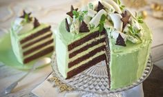 Polish Desserts, Polish Recipes, Sugar Cookies, Vanilla Cake, Baked Goods, Mousse, Frosting, Food And Drink, Birthday Cake
