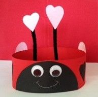 Ladybird headband inspired by Ella by Alex T. Smith
