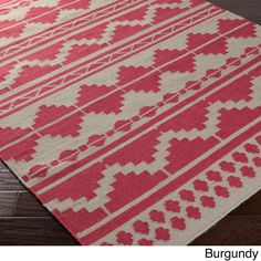 Hand-woven Billings Flatweave Southwestern Wool Rug (2' x 3') - Overstock™ Shopping - Great Deals on Accent Rugs