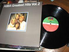 ABBA - Greatest Hits Vol. 2 CANADA 1979 Lp vg++ mit/LyricsInner