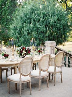 Moody, Romantic Outdoor Wedding Inspiration