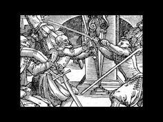 Joachim Meyer's German Longsword Techniques - YouTube German Longsword, Swords And Daggers, Fencing, Martial Arts, Renaissance, Medieval, Geek, Play, Youtube