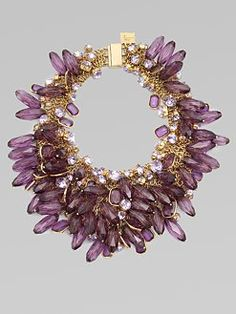 Milly Chunky Cluster Necklace $395... out of my price range but I would rock it