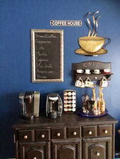 Un rincón para el café. Si os apasiona el café seguro que os encantarán estas ideas para crear un rincón personal destinado al mismo