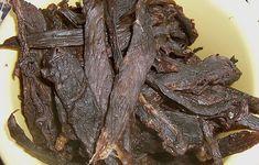 Beef Jerky - würziges Dörrfleisch, ein gutes Rezept aus der Kategorie Rind. Bewertungen: 69. Durchschnitt: Ø 4,3.