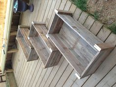 Three more planter boxes for the garden, made from the ever-versatile recycled pallet! Welcome back, spring!